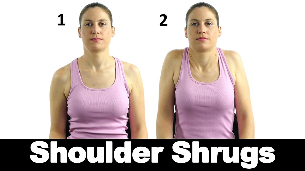 Shoulder Shrugs: Don't Shrug them Off!