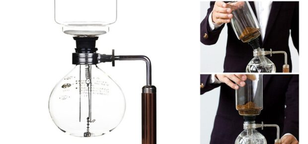 how to make coffee using syphon coffee maker
